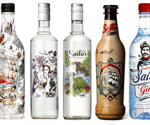All Of Good Ol Sailor's PET Bottle Designs