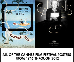 All Of The Official Cannes Film Festival Posters Since 1946