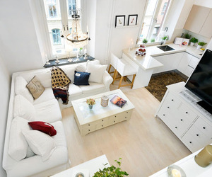 All white studio in Sweden