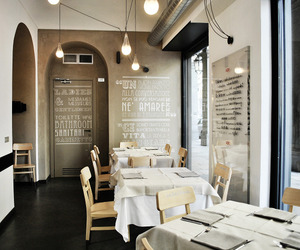 Alla Lettera restaurant by Yet Matilde