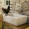 Alpine, Carved Stone Kitchen Sink