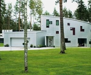 Aluminium House by Arhitektid Muru & Pere