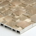 Aluminum Mosaic Tile from SOLI USA