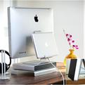 Alurack   Apple Display Rear Storage Solution