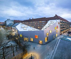 Ama'r Children's Culture House by Dorte Mandrup Arkitekter