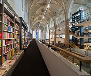 Amazing Bookstore in a Reclaimed Cathedral