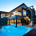 Amazing Dream Home In Black And Blue