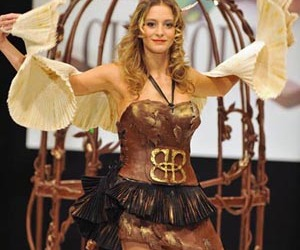 Amazing Dress from The Chocolate Fashion Show in Paris