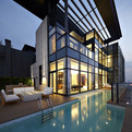 Amazing Duplex Penthouse in China by Kokaistudios