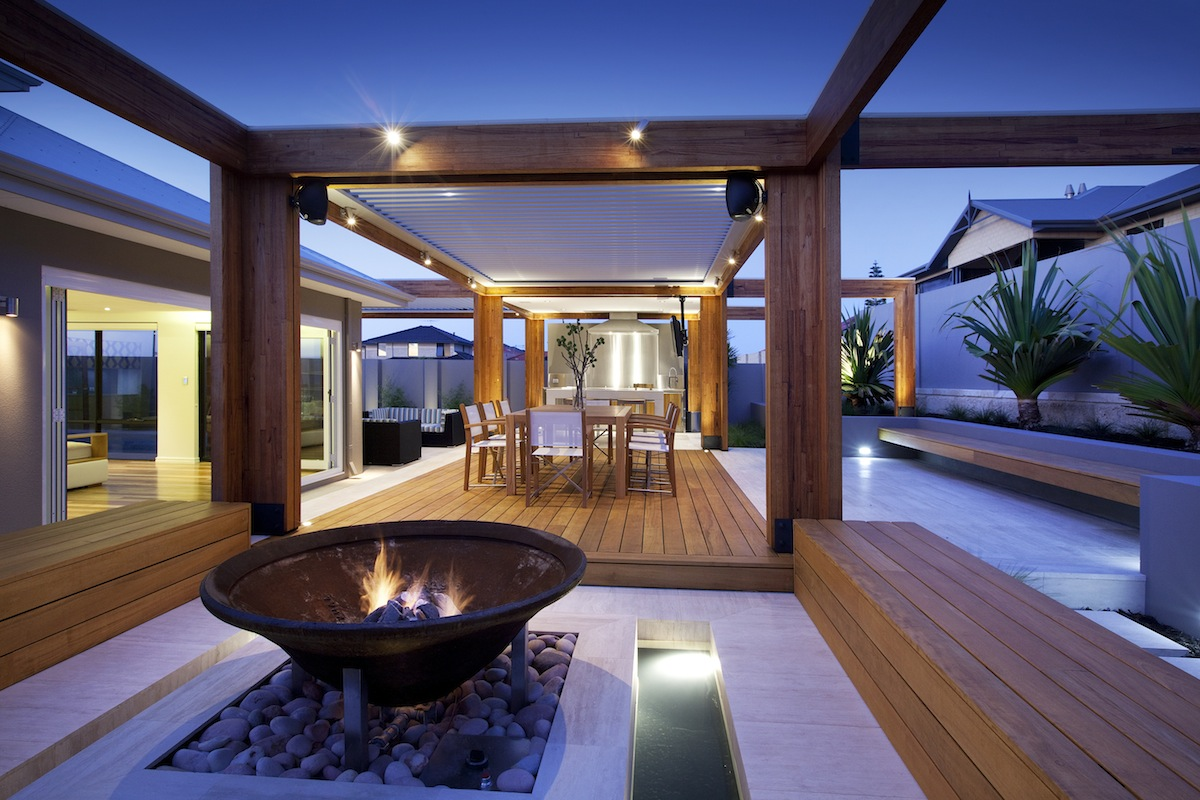 Amazing Outdoor Room In Hillarys Peth
