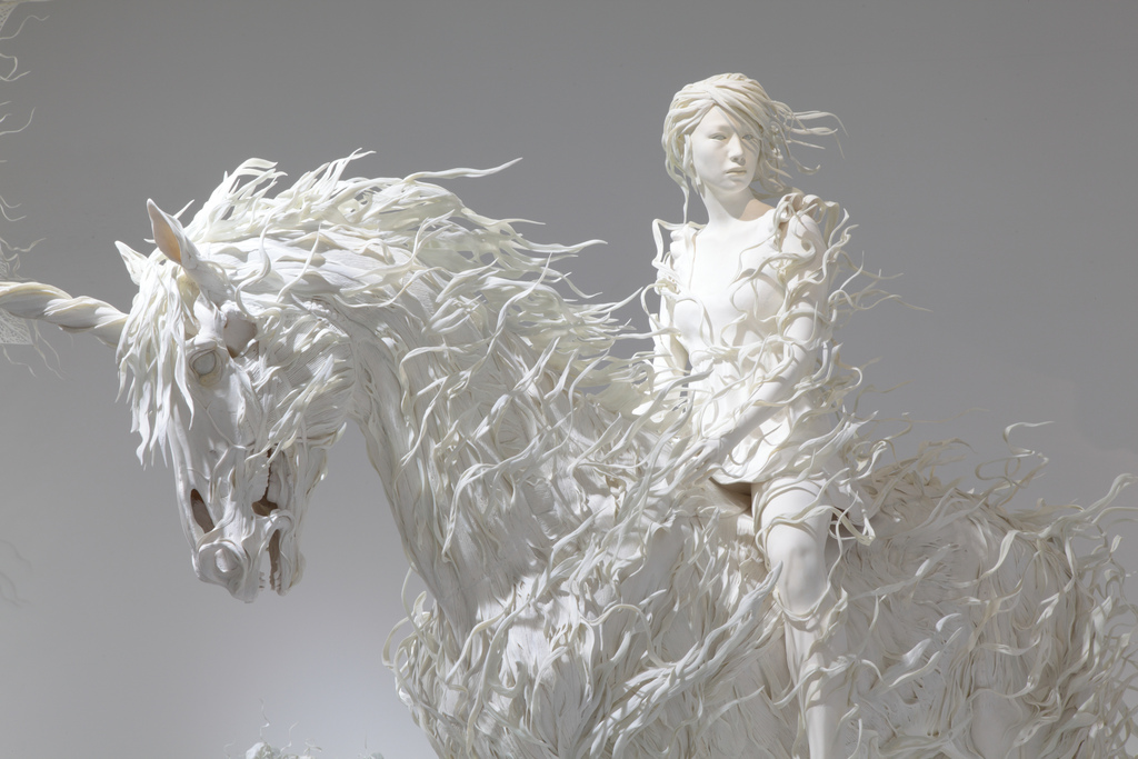 Amazing Paper Sculptures Art - All About Sculpture Ideas