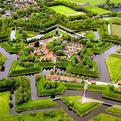 Amazing Star-shaped Fort in the Netherlands