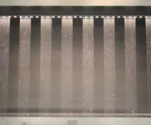 Amazing Water Fountain at Osaka City Station