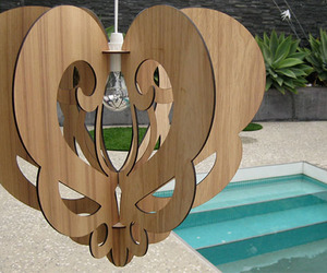 Amazing Wood Chandeliers made by Who Did That?