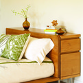 Amenity Modern's Muir Furniture line made from reclaimed Douglas Fir