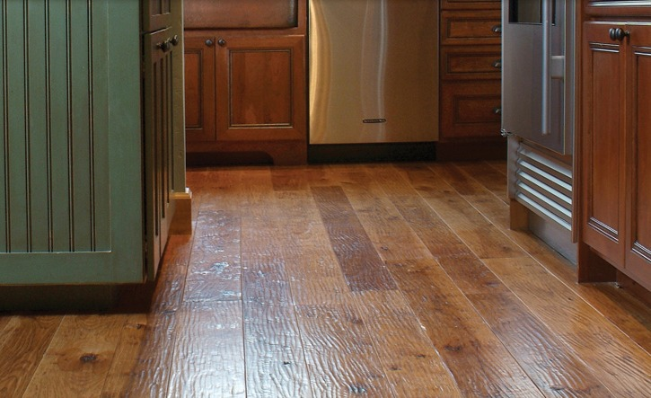 Amish Hand Scraped Flooring