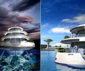 Amphibious 1000 | Floating Resort Qatar