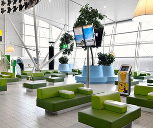 Amsterdam's Refreshed Schiphol Departure Lounge 4
