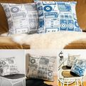 Analog Nights Pillows by Aimee Wilder