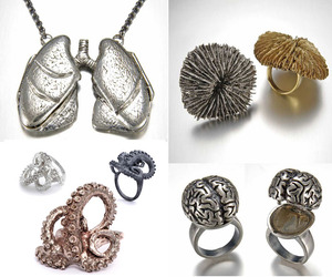 Anatomy, Fungi & Tentacle Jewelry