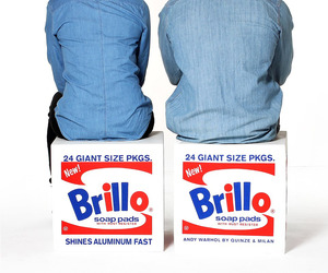 Andy Warhol Brillo Box Seats from Quinze & Milan