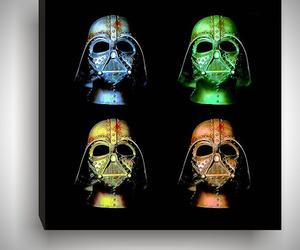 Andy Warhol Inspired Star Wars Darth Vader Pop Art