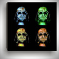 Andy Warhol Inspired Star Wars Darth Vader Pop Art