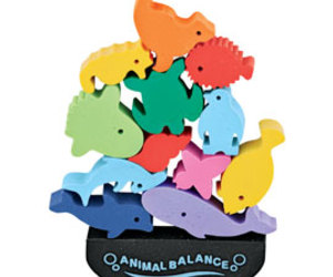 Animal Balance Erasers: Fun + Exercise