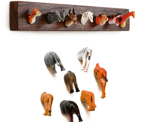 Animal Heads and Butts Become Home Decor