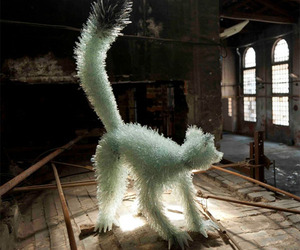 Shattered Glass Animal Sculptures | Marta Klonowska