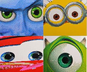 Animated Movie Character LEGO Mosaics