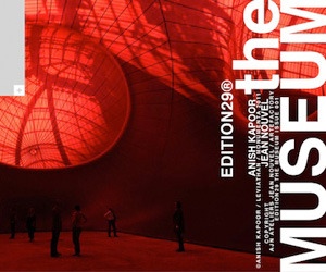 Anish Kapoor in Edition29 THE MUSEUM for iPad