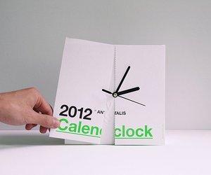 'Antalis' calendar+clock = calenclock
