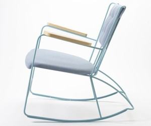 Antelope Rocker by Ernest Race
