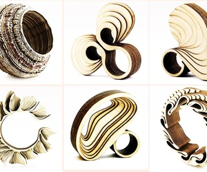 Anthony Roussel's Wooden Rings