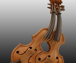 Anthropomorphic Violins By Philippe Guillaume
