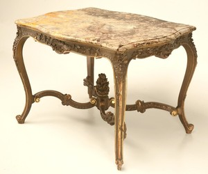 Antique 18th Century Center Hall Table