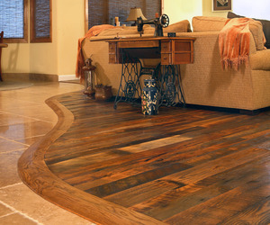 End Grain Wood Block Flooring