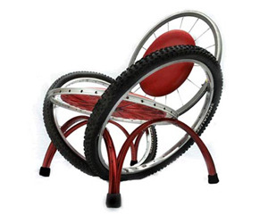 Antique Bike Furniture From Recycled Bike Parts