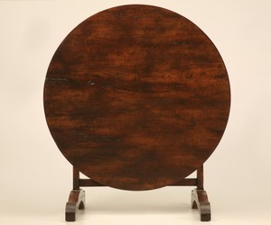 Antique French Tilt Top Wine Tasting Table