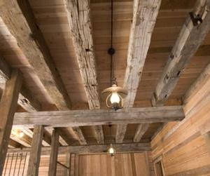 Antique Hand-Hewn Barn Timbers