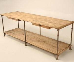 Antique Italian Bakers Work Table or Island