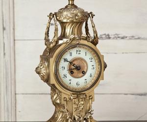 Antique Louis XVI Bronze Mantel Clock