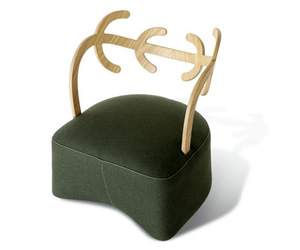 Antler Armchair by Nendo for Cappellini