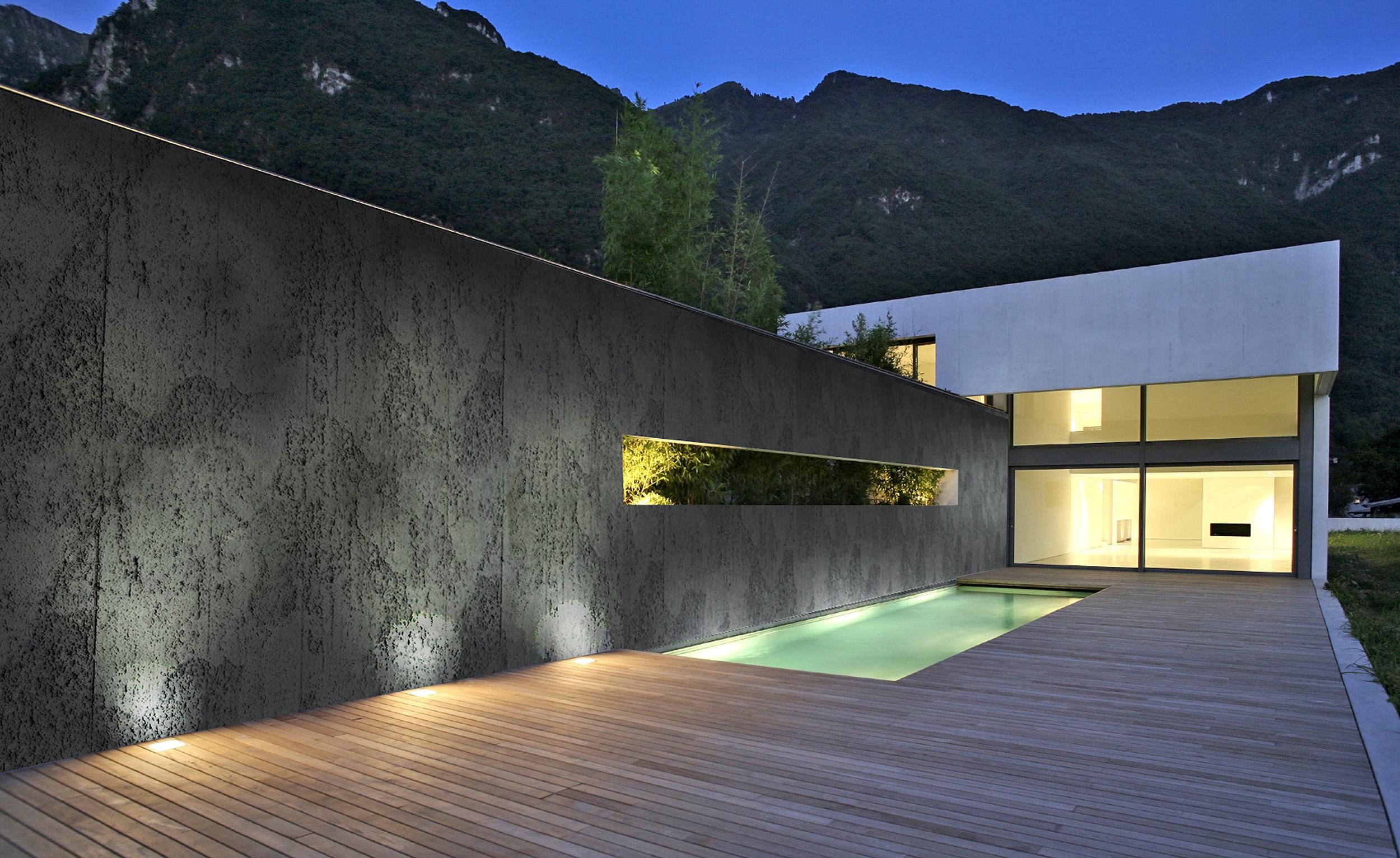 Anthracite Concrete Panel