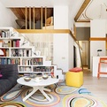 Colorful Interior Design in Barcelona by Miel Arquitectos
