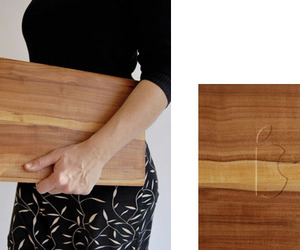 Apfelbrett MacBook Cutting Board