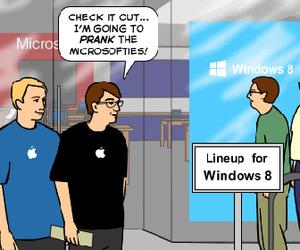 Apple Fans Secretly Envious of The Surface [Comic]