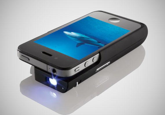 Apple iphone 4 pocket projector for Proyector apple