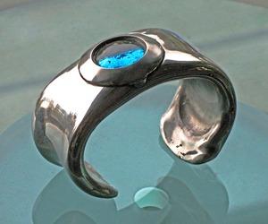 Aqua Bead Bracelet
